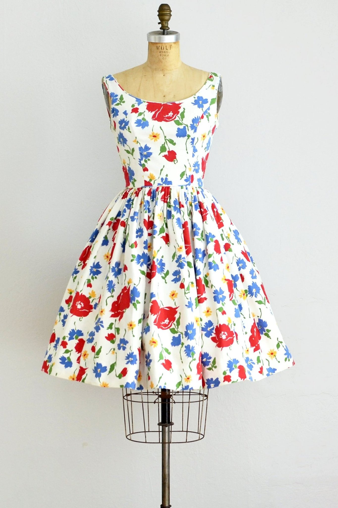 Jonathan Logan Floral Dress - Pickled Vintage