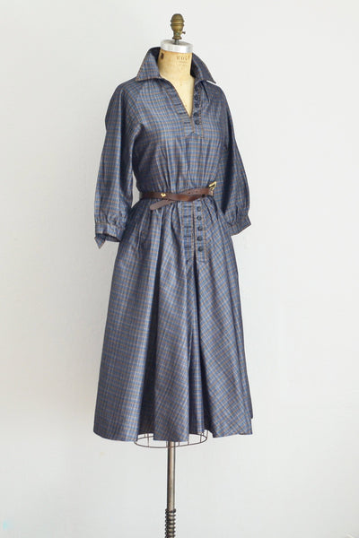 Carlye Shirt Dress - Pickled Vintage