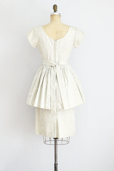 Peplum Dress - Pickled Vintage
