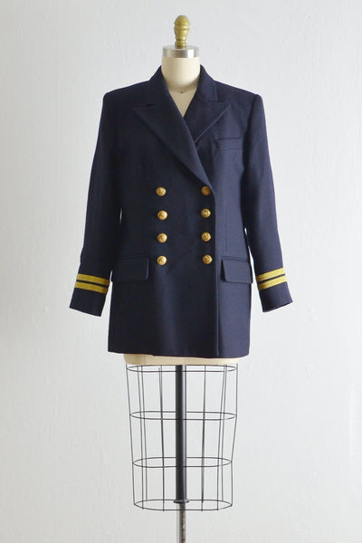 Vintage Ralph Lauren Navy Blazer - Pickled Vintage