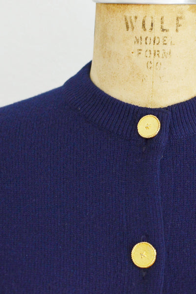 Ballantyne Cashmere Cardigan - Pickled Vintage