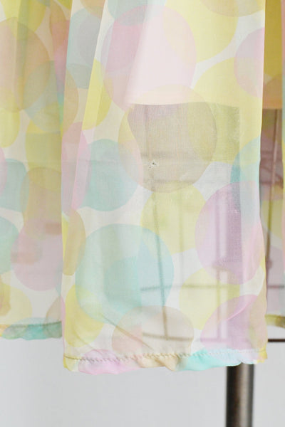 Pastel Party Dress - Pickled Vintage