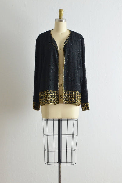 Vintage Beaded Cardigan - Pickled Vintage