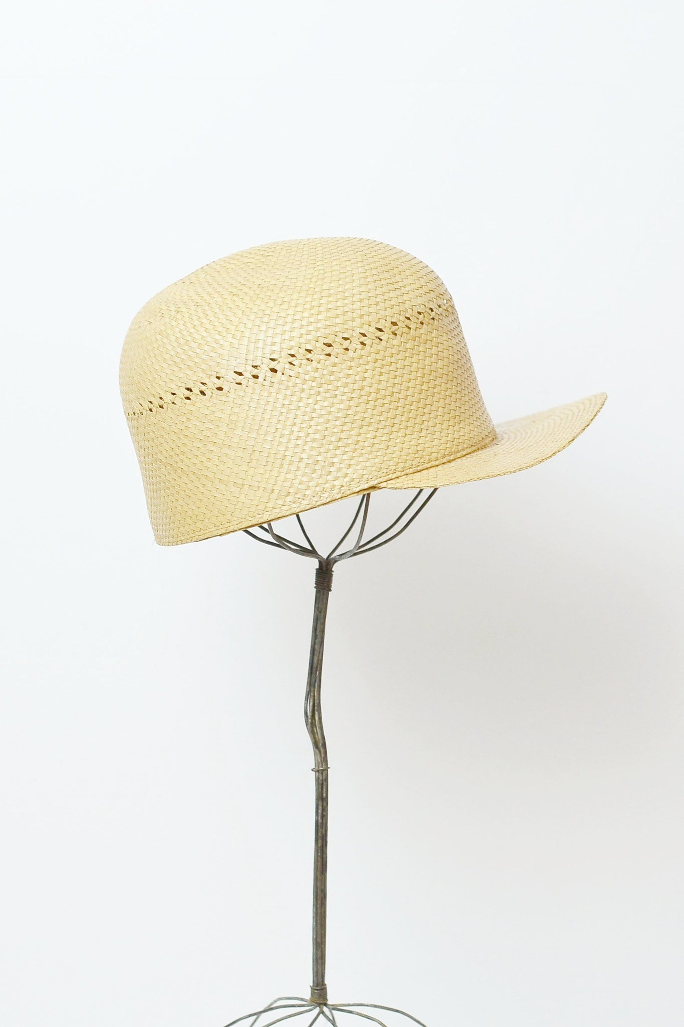 Straw Baseball Cap - Pickled Vintage