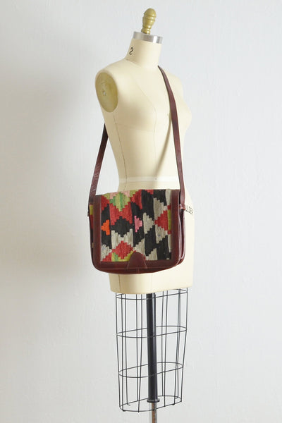 Vintage Kilim Crossbody Bag - Pickled Vintage