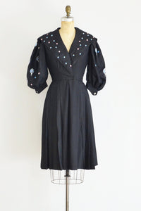 Balloon Sleeve Dress - Pickled Vintage