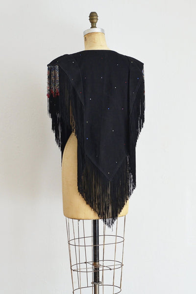 Fringed Vest - Pickled Vintage