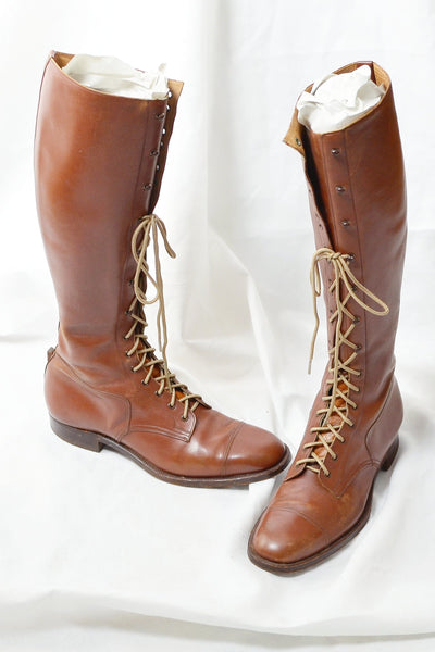 Cavalry Tall Boots - Pickled Vintage
