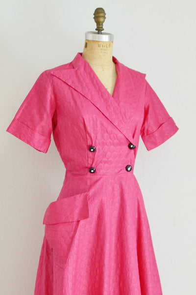 50s Robe Dress - Pickled Vintage