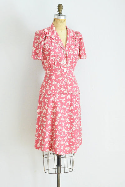 40s Raspberry Pink Set - Pickled Vintage