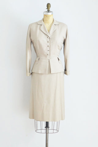 40s Wool Suit - Pickled Vintage