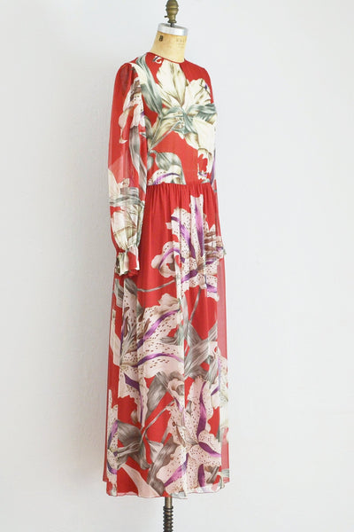 Hanae Mori Couture Dress - Pickled Vintage