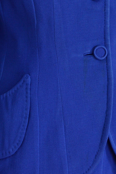 40s Cobalt Blue Suit - Pickled Vintage