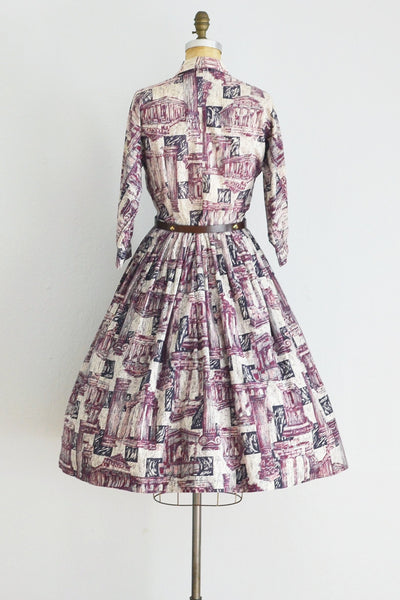 50s Shirtwaist Dress - Pickled Vintage