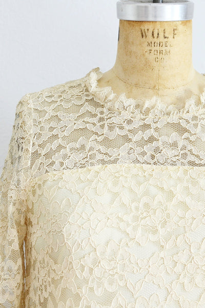 60s Lace Dress - Pickled Vintage