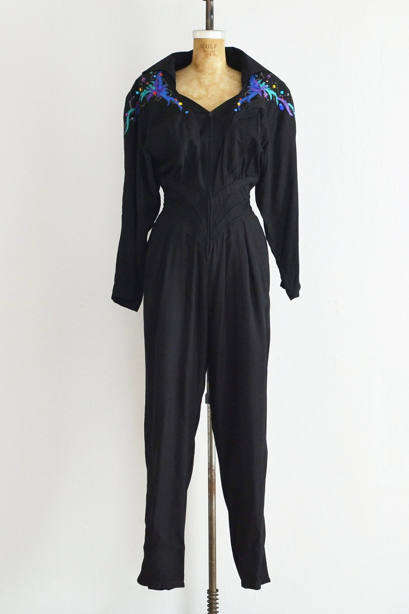 Batwing Jumpsuit - Pickled Vintage