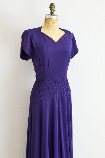 DuBarry Spiderweb Dress - Pickled Vintage