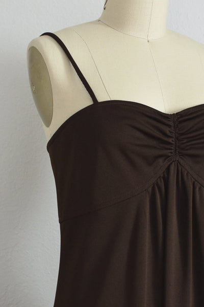 70s Chocolat Maxi Dress - Pickled Vintage
