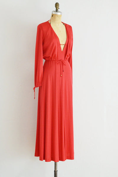 Resort Maxi Dress - Pickled Vintage