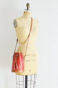 Drawstring Bucket Bag - Pickled Vintage