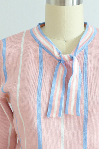 70s Bubblegum Knit Sweater - Pickled Vintage