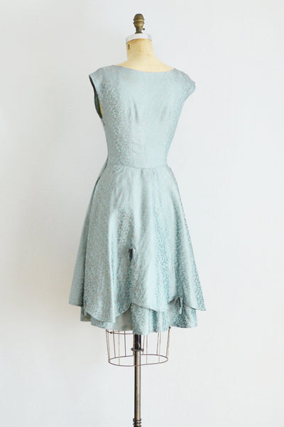 60s Blue Party Dress - Pickled Vintage