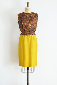 60s Wiggle Dress - Pickled Vintage