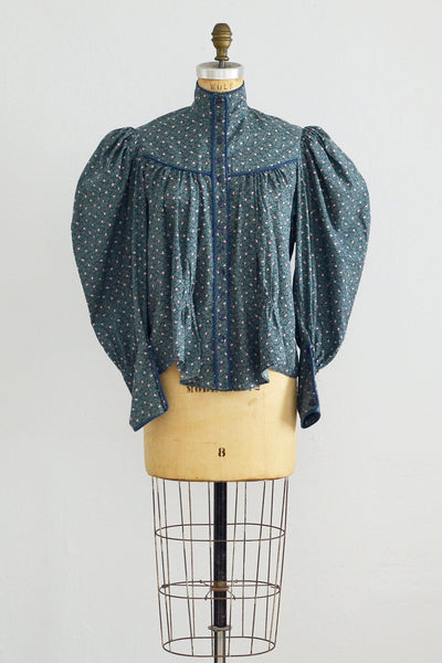 Victorian Style Top - Pickled Vintage