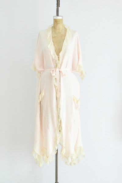 20s Silk Robe - Pickled Vintage