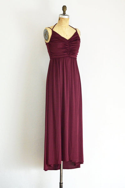 Wine Dress - Pickled Vintage