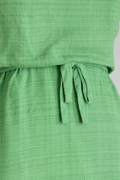Petite Green Wiggle Dress - Pickled Vintage