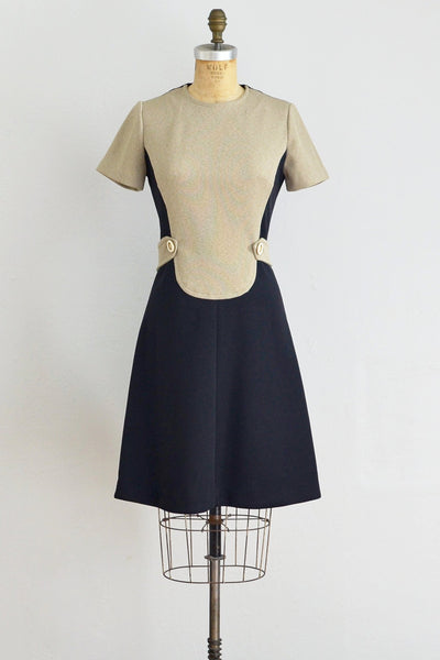 60s Space Age Shift Dress - Pickled Vintage
