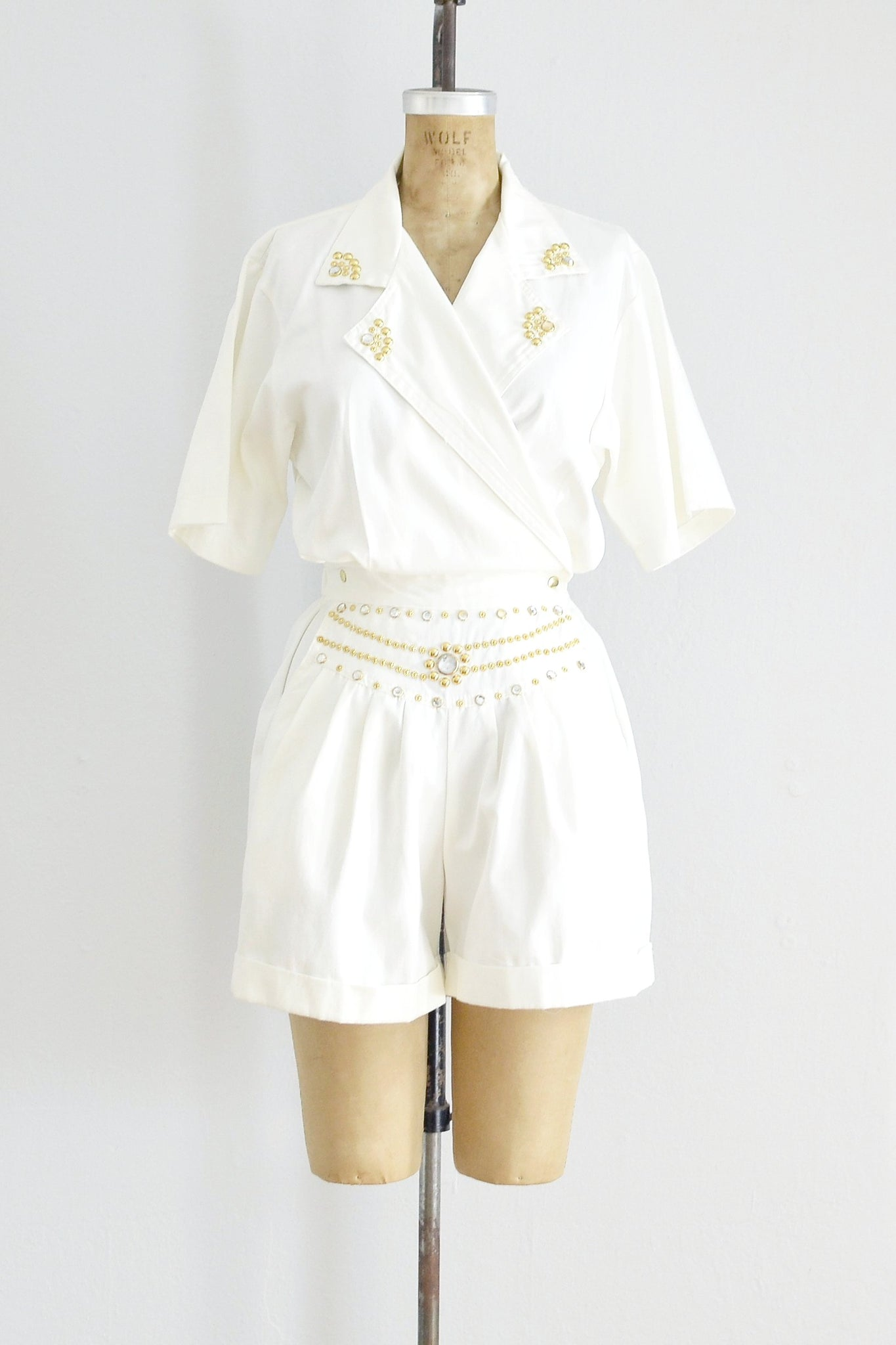 Jeweled Romper - Pickled Vintage