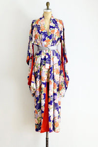 40s Graceful Motion Kimono - Pickled Vintage