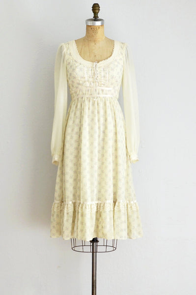 70s Gunne Sax Dress - Pickled Vintage