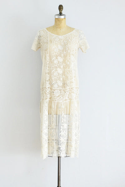 Old Lace Dress - Pickled Vintage