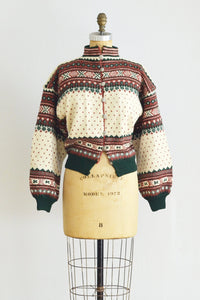 40s Norwegian Sweater - Pickled Vintage