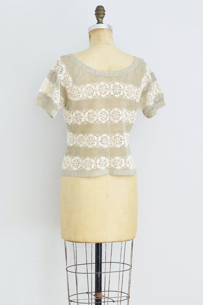 Crochet Blouse - Pickled Vintage