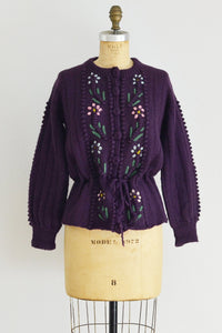 Aubergine Sweater - Pickled Vintage