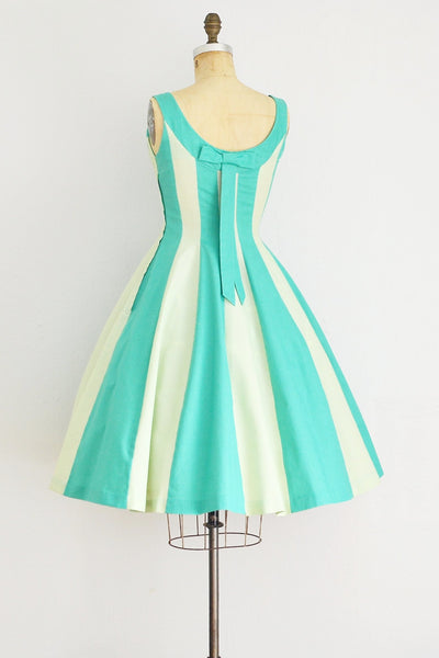 Green Day Dress - Pickled Vintage