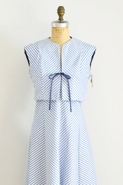 Striped Lanz Dress - Pickled Vintage