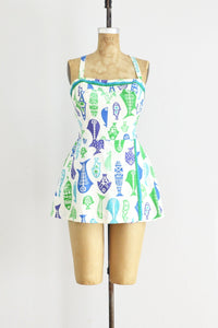 Pisces Playsuit - Pickled Vintage