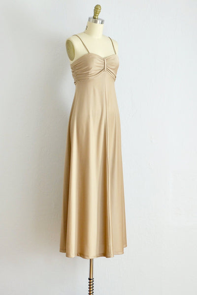 70s Bandeau Dress - Pickled Vintage