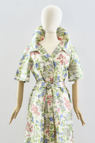 1950s Silk Swing Coat - Pickled Vintage