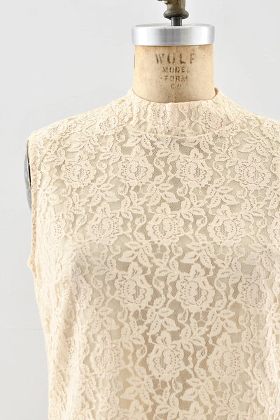 NEW! 1960s Lace Top - Pickled Vintage
