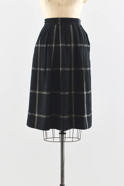 70s Check Skirt - Pickled Vintage