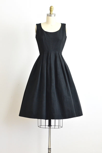 50s Faille Dress - Pickled Vintage