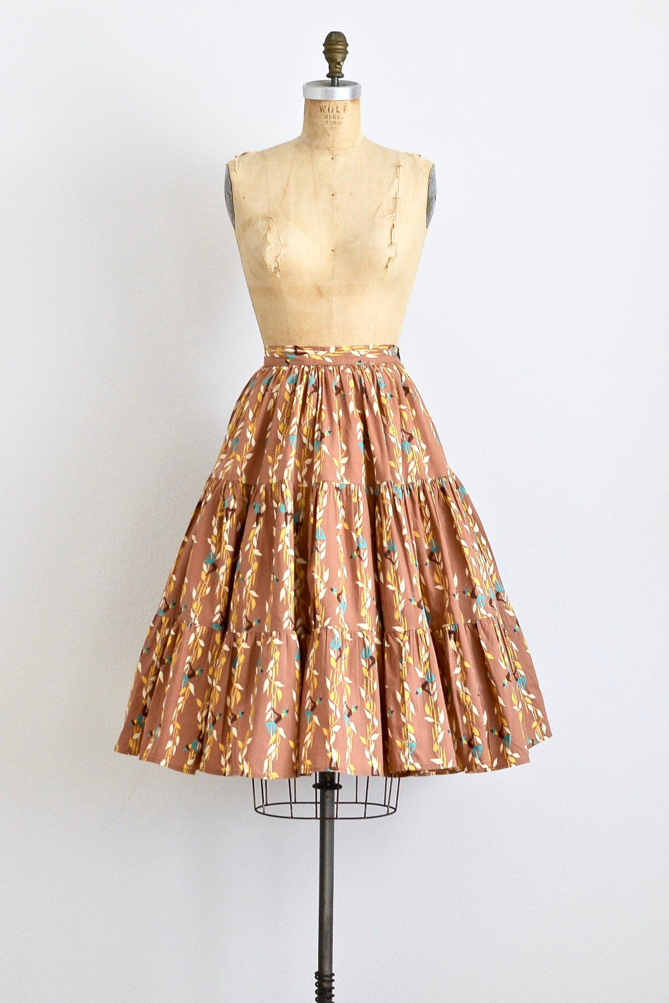 1950s Novelty Skirt - Pickled Vintage