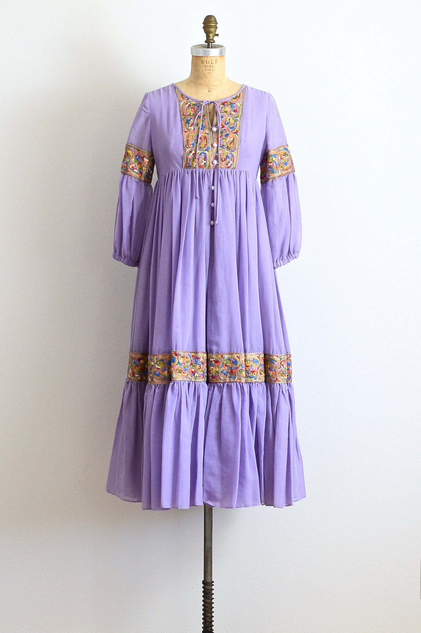 1970s Festival Dress - Pickled Vintage