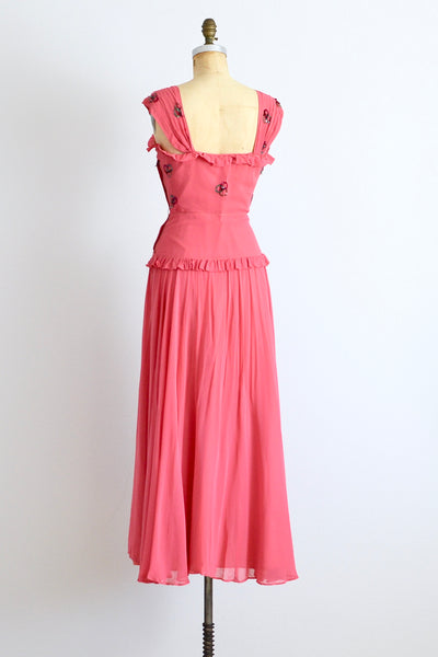 1940s Fresh Lox Dress - Pickled Vintage
